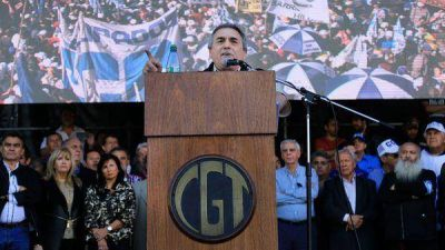 La CGT le pidió a Cristina Kirchner que