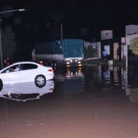 Lluvia en Villa Mercedes: inundaciones de calles y viviendas en La Ribera