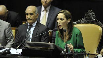 La gobernadora Vidal inaugurará el miércoles las sesiones legislativas