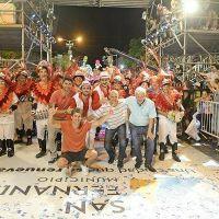Una multitud disfrutó el Gran Corso Familiar 2017 de San Fernando