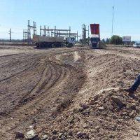Avanzan las obras en la central termoeléctrica de Anchoris, en Luján