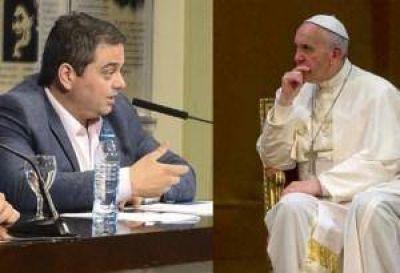 El papa Francisco recibió en Santa Marta al ministro Triaca
