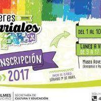 Quilmes inicia la inscripción para los talleres barriales 2017