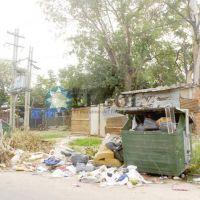 Muchos residuos acumulados