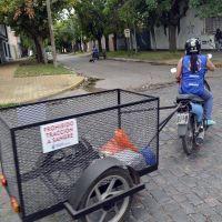 Siguen recorriendo los barrios para recolectar residuos