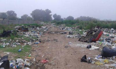 Barrio de Ezeiza se convirtió en la capital de la basura