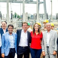 Mar del Plata: López, invitado por Vidal y Decoud, participó de inauguración de obra eléctrica