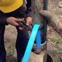 Se normalizó el servicio de agua potable en Villa San Roque