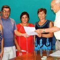 Tres Lomas: Álvarez entregó subsidios a instituciones