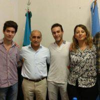 La JR seccional se reunió con Salvador y legisladores en La Plata
