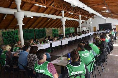 """ATE realizó el """"Encuentro Provincial de Dirigentes Sindicales"""""""