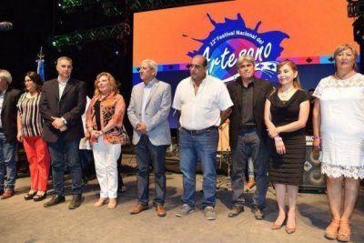 El vicegobernador en el Festival del Artesano