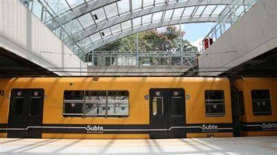 Suspenden el paro de la Línea C y el subte volverá a circular entre Retiro y Constitución tras las obras