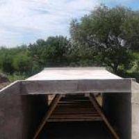 Puente de Obligado: Finalizó la construcción de la estructura de hormigón