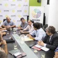 Quilmes: Martiniano Molina recibió a representantes del Club Don Bosco