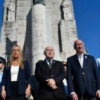 Lifschitz participó del acto por el 205º aniversario de la creación de la Bandera