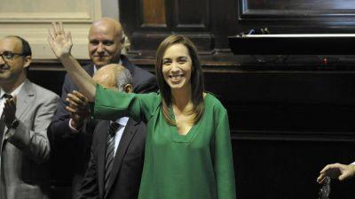 Vidal, ante el discurso más importante desde que es gobernadora