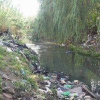 Es preocupante el grado de contaminación del arroyo Las Piedras