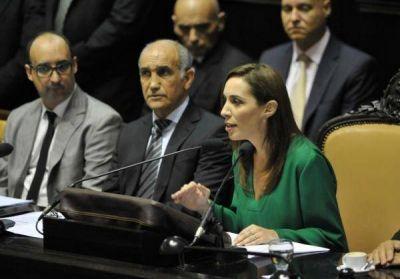Vidal entre lo bueno y lo malo: la Gobernadora inaugura las sesiones legislativas con un discurso amplio