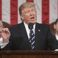 Donald Trump se mostró conciliador en su primer discurso ante el Congreso de EE.UU.