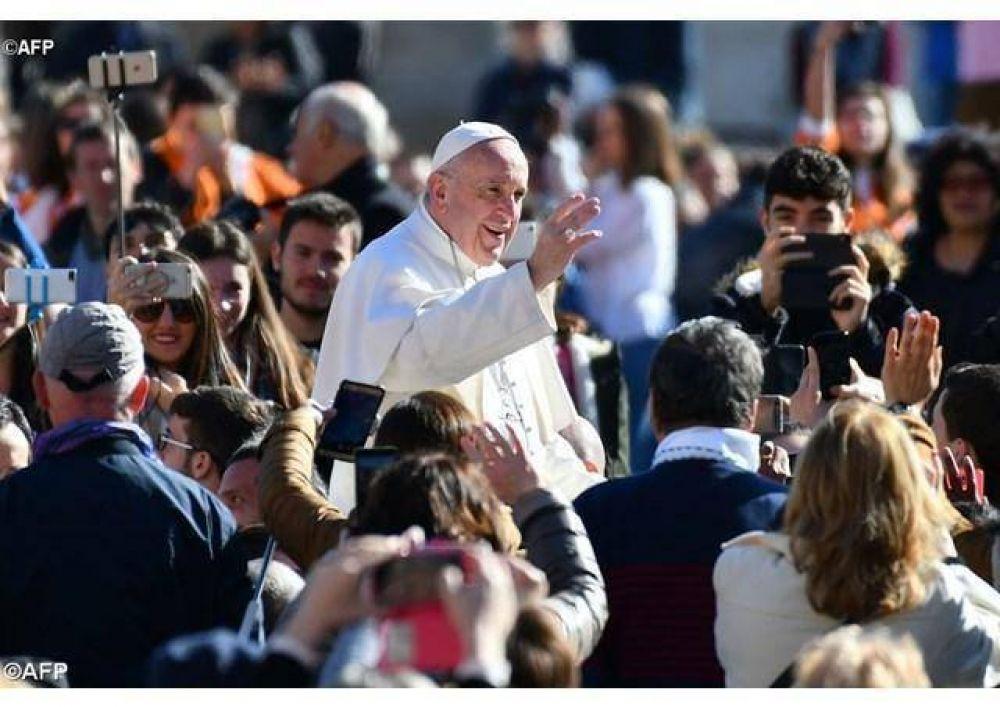 """""""La Cuaresma: signo sacramental de nuestra conversión"""", el Papa en la catequesis"""