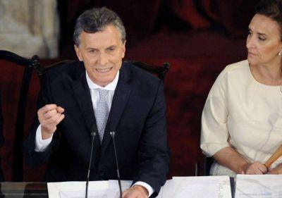 Mauricio Macri inaugura las sesiones ordinarias del Congreso