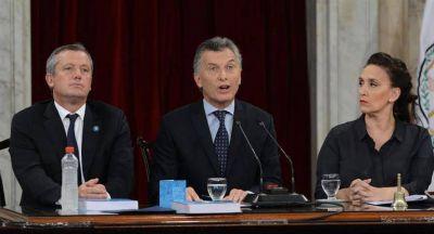 Macri, ante la Asamblea Legislativa: