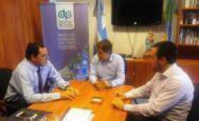 Reunión de trabajo del Senador Vitale y el concejal Iguerategui con el Defensor del Pueblo Provincia