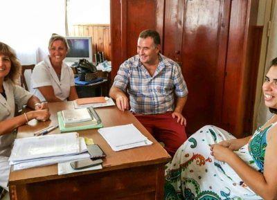 Entrega de subsidio a Escuela Primaria Nº 6 de Villa Ramallo