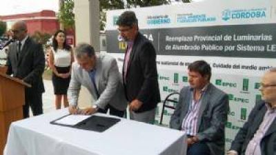 EPEC presentó obras para el desarrollo industrial cordobés