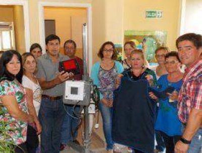 La Unidad Sanitaria de Claraz ya cuenta con un desfibrilador automático