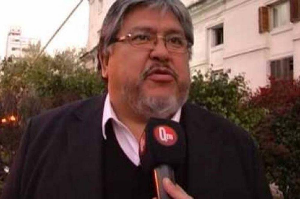"""""""Chino"""" Navarro: """"Macri es un comentarista muy light"""""""