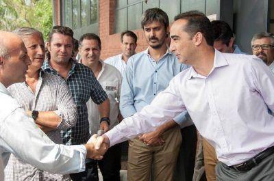 """Tagliaferro: """"Seguimos trabajando para generar más empleo"""""""