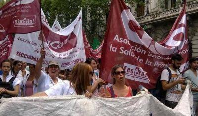 Médicos le vuelven a paralizar los hospitales a Vidal
