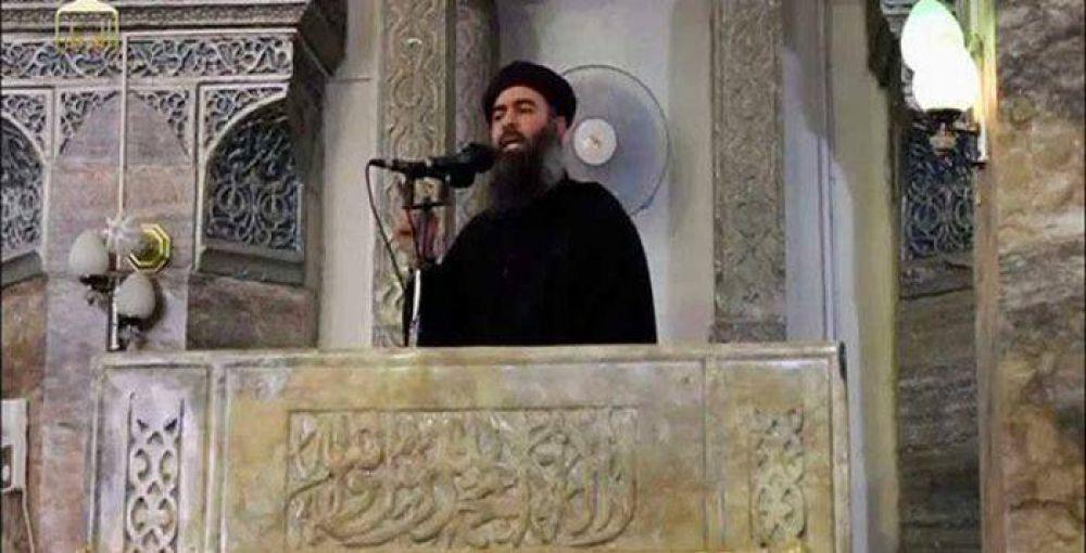 Jefe del Estado Islámico admite derrota en Irak y se despide
