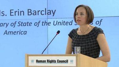 Funcionaria de EEUU a la ONU: ''Terminen la obsesión con Israel''