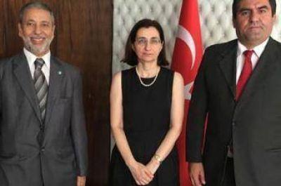 Visita protocolar de los directivos del CIRA a la Embajada de Turquía