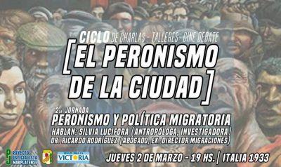 Peronismo y política migratoria