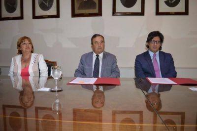 El ministro Garavano firmó un acuerdo con el Superior Tribunal de Justicia