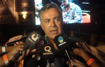 Alfredo Cornejo disparó contra el sindicato: