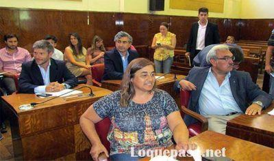 """Claudia Rodríguez: """"No acompañamos el Presupuesto porque no responde a las necesidades de los vecinos"""""""