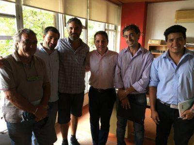 Gral. Alvarado: Importante reunión de autoridades del Colegio de Técnicos con el Secretario de Obras Públicas