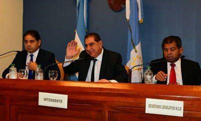"""El intendente Jofré pidió """"estar unidos, sin diferencias de banderías políticas o sectoriales, para defender el interés común"""""""