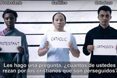 El papa Francisco pide: 'Recen conmigo por los cristianos perseguidos'