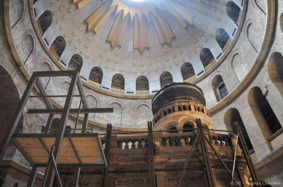 El Vaticano ofrecerá una importante donación para la restauración del Santo Sepulcro