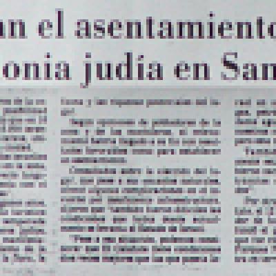 "La ""Israel Argentina"" que soñó Theodor Herzl"