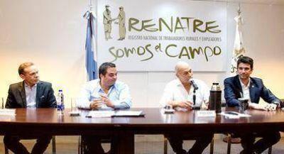 El RENATRE firmó convenios con la Dirección Nacional de Migraciones y el RENAPER