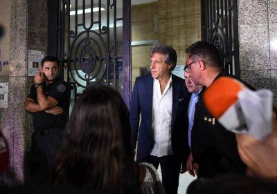 Tapia fracasó en la negociación con Marchi y sigue el paro del fútbol