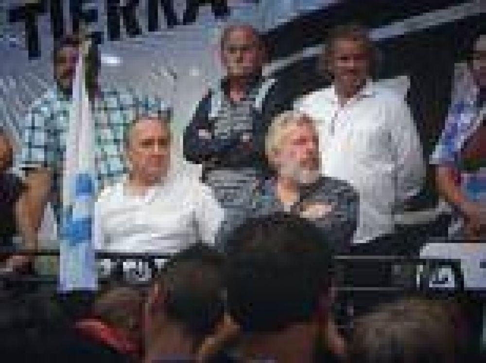 La Plata: Borgini participó del plenario popular de la CTEP