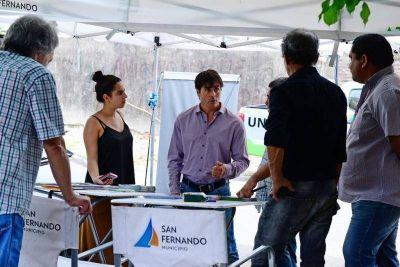 Positivo balance de El Municipio en tu Barrio en San Fernando